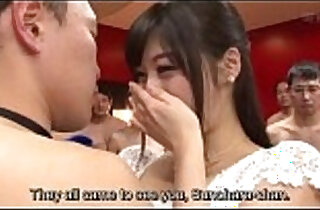 Subtitled cfnm Japanese Miki Sunohara epic sex party striptease - 5:57