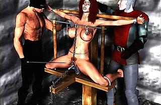 Erotic Evil Bondage Artwork - 5:41