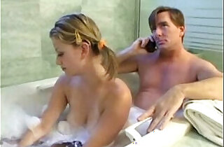 Teen Daugther and daddy have fun - 19:32