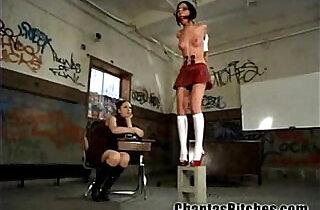 Schoolgirl Gets a BDSM Punishment! - 2:12