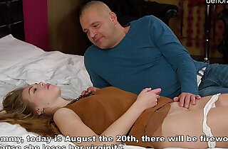 Virgin Alesya being seduced by a porn actor - 16:02