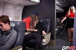 August Ames in flight fuck - 5:17