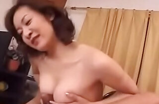 Old Japanese Wife Loves Young Cock - 11:12
