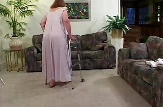 Toothless Granny Sucks And Fucks - 7:25