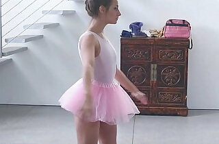 ExxxtraSmall Tiny Ballerina Fucks Her Instructor! - 8:28