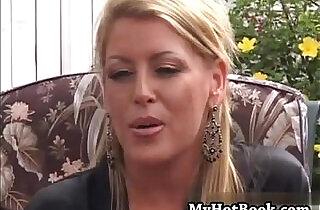 Chelsea Zinn is a wild blonde MILF who bit off wa - 23:26