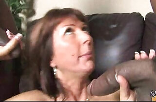 Huge Black Cock Destroys Amateur Housewife - 5:24