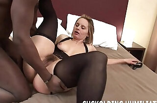 I am going to gag on his black cock while you watch - 11:03