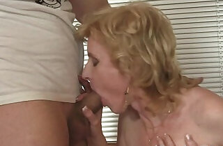 Mature takes two cocks - 6:05